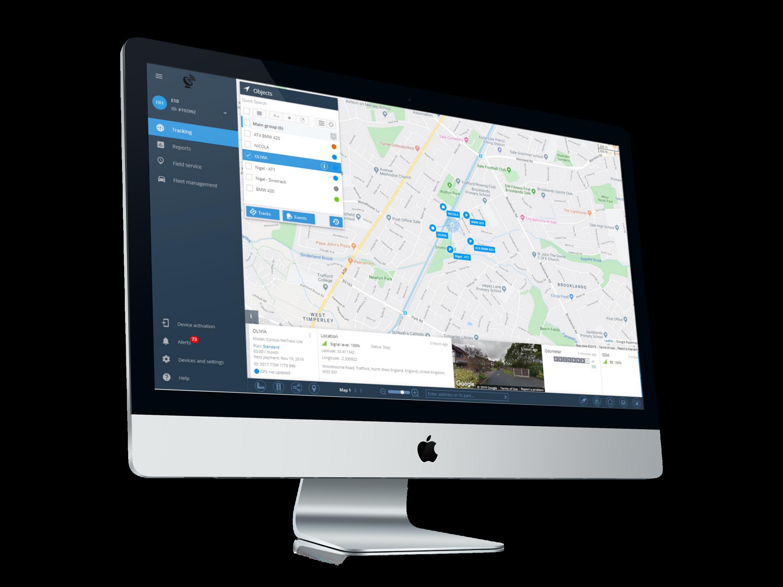 Navixy GPS tracking software